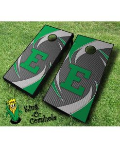 Eastern Michigan Eagles NCAA cornhole boards Swoosh