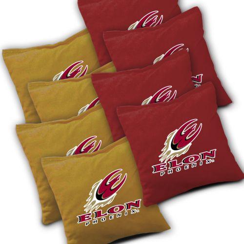 Elon Phoenix Cornhole Bags Set of 8