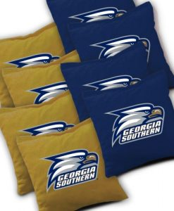 Georgia Southern Cornhole Bags Set of 8