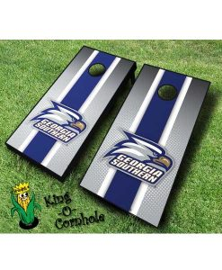 Georgia Southern Eagles NCAA cornhole boards Stripe