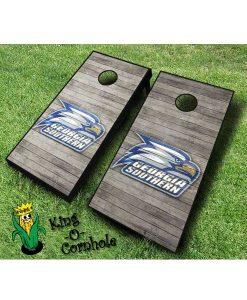 Georgia Southern Eagles NCAA cornhole boards Distressed