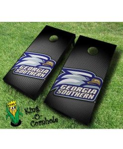 Georgia Southern Eagles NCAA cornhole boards Slanted