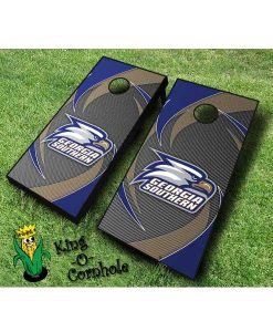 Georgia Southern Eagles NCAA cornhole boards Swoosh