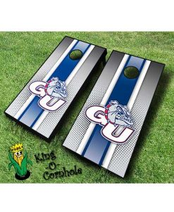 Gonzaga bulldogs NCAA cornhole boards Stripe