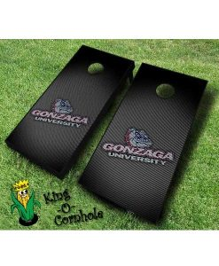 Gonzaga bulldogs NCAA cornhole boards Slanted