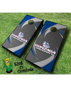 Gonzaga bulldogs NCAA cornhole boards Swoosh