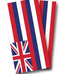 Hawaii Flag Cornhole Wrap