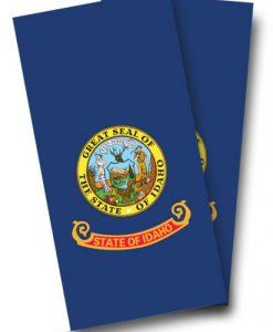 Idaho Flag Cornhole Wrap