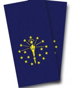 Indiana Flag Cornhole Wrap