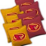 Iowa State Cyclones Cornhole Bags Set of 8
