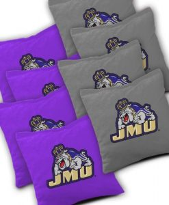 James Madison Dukes Cornhole Bags Set of 8