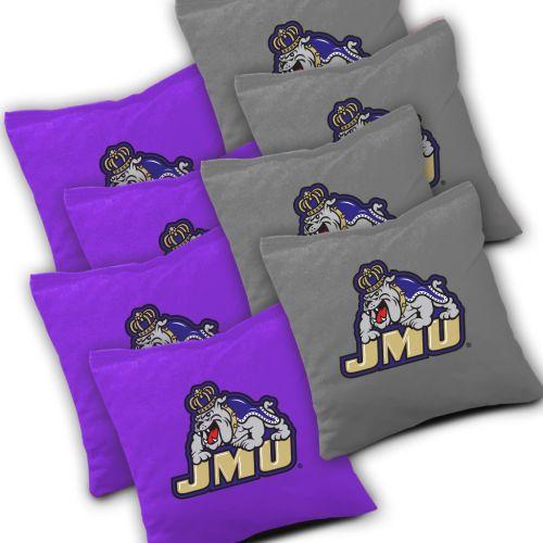 James Madison Dukes Cornhole Bags Set of 8