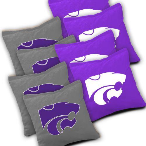 Kansas State Wildcats Cornhole Bags Set of 8