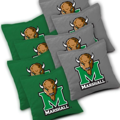 Marshall Thundering Herd Cornhole Bags Set of 8