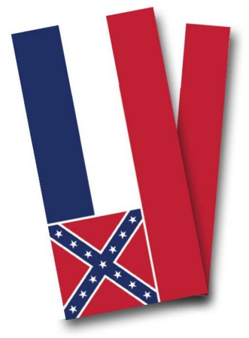 Mississippi Flag Cornhole Wrap