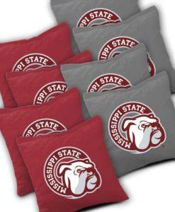 Mississippi State Bulldogs Cornhole Bags Set of 8