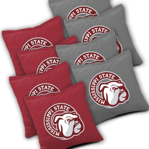 Mississippi State Bulldogs Cornhole Bags Set of 8