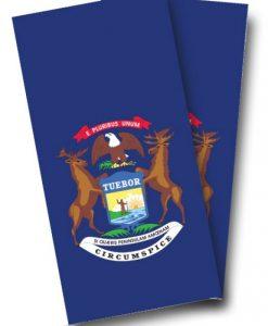 Missouri Flag Cornhole Wrap