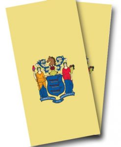 New Jersey Flag Cornhole Wrap
