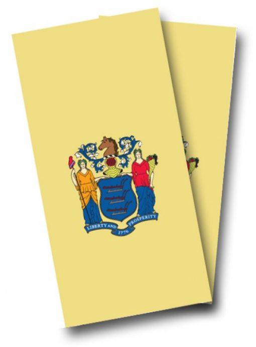 New Jersey Flag Cornhole Wrap