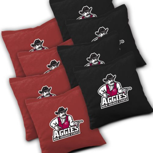 New Mexico State Aggies Cornhole Bags Set of 8