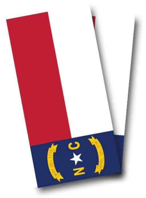 North Carolina Flag Cornhole Wrap