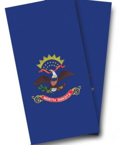 North Dakota Flag Cornhole Wrap