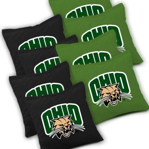 Ohio Bobcats Cornhole Bags Set of 8