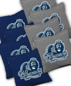 Old Dominion Monarchs Cornhole Bags Set of 8