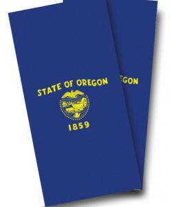 Oregon Flag Cornhole Wrap