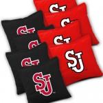 St John's Red Storm Cornhole Bags Set of 8