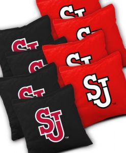 St John's Red Storm Cornhole Bags Set of 8