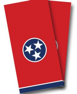 Tennessee Flag Cornhole Wrap