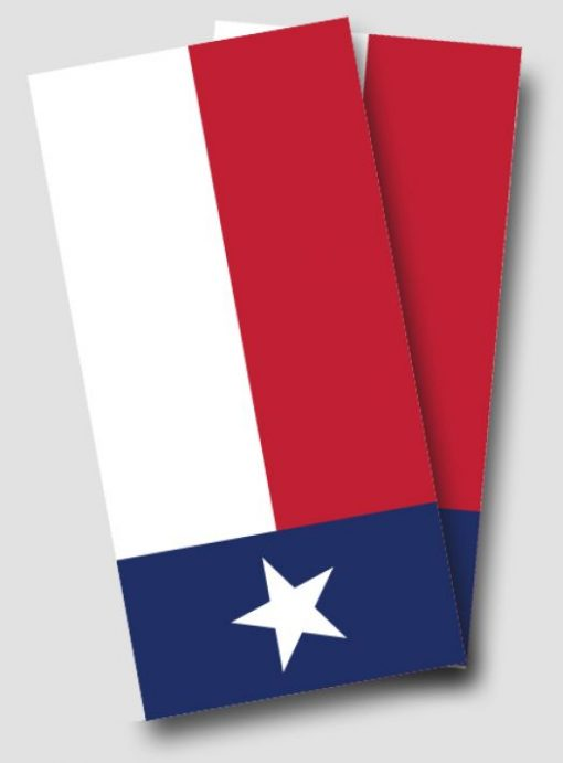 Texas Flag Cornhole Wrap