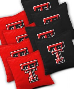 Texas Tech Red Raiders Cornhole Bags Set of 8