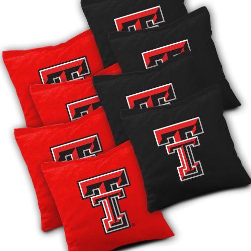 Texas Tech Red Raiders Cornhole Bags Set of 8