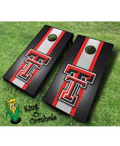 Texas Tech red raiders NCAA cornhole boards Stripe
