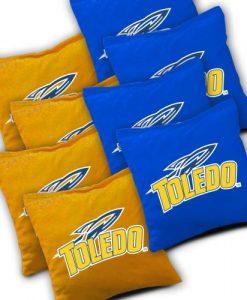 Toledo Rockets Cornhole Bags Set of 8