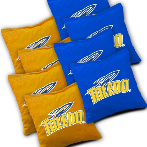 Toledo Rockets Cornhole Bags Set of 8