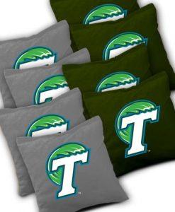 Tulane Green Wave Cornhole Bags Set of 8