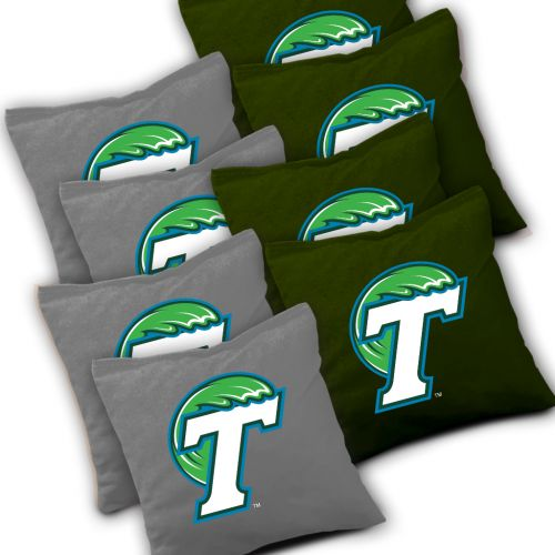 Tulane Green Wave Cornhole Bags Set of 8