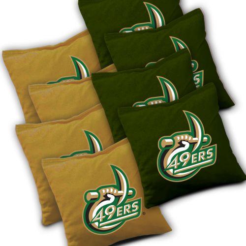 UNC Charlotte 49ers Cornhole Bags Set of 8