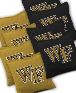 Wake Forest Demon Deacons Cornhole Bags Set of 8