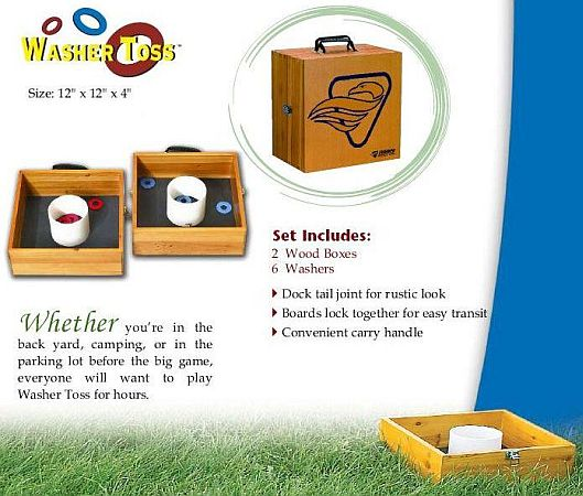Washer Toss Game With Hook