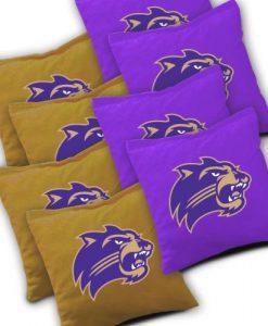 Western Carolina Catamounts Cornhole Bags Set of 8