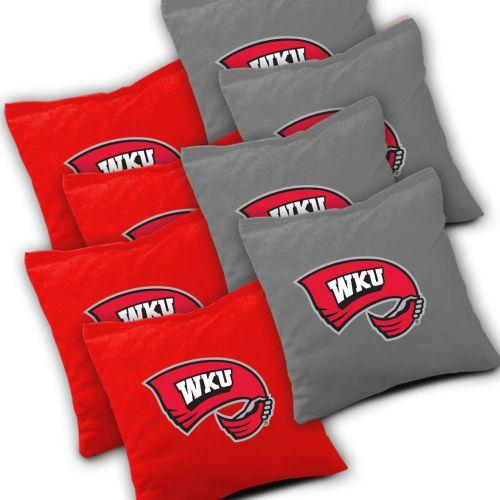 Western Kentucky Hilltoppers Cornhole Bags Set of 8