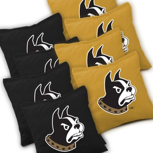 Wofford Terriers Cornhole Bags Set of 8