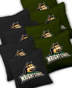 Wright State Raiders Cornhole Bags Set of 8