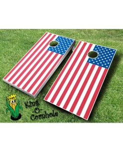 american flag cornhole boards