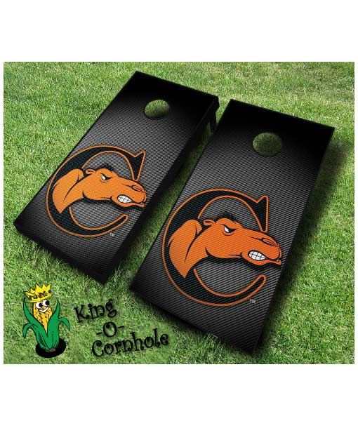 campbell fighting camels NCAA cornhole boards Slanted